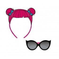 Sluneční brýle + čelenka do vlasů L.O.L.
