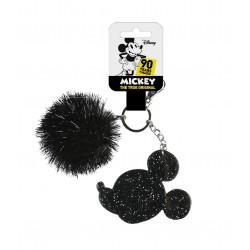 Klíčenka s pom-pom kuličkou Mickey Mouse
