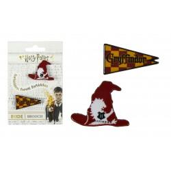 Brož Harry Potter - Nebelvír (sada 2ks)