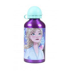Kovová láhev na vodu Ledové království II - fialová