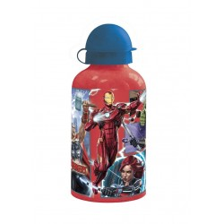 Kovová láhev na vodu Marvel Avengers - červená