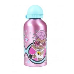 Hliníková láhev na vodu L.O.L. - růžová