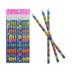 Tužka - smajlíci (barevní)