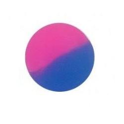 Hopík / skákačák (30mm) - růžovo-modrý