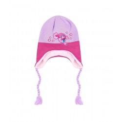 Čepice Trollové - růžovo-fialová