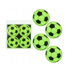Reflexní nálepky - míče (sada 4ks)