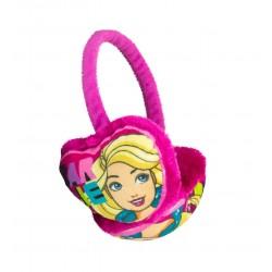 Klapky na uši Barbie - růžové