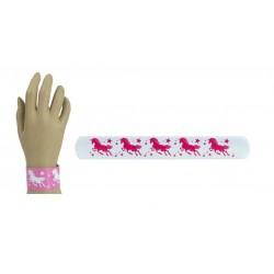 Náramek na ruku s jednorožcem - bílý
