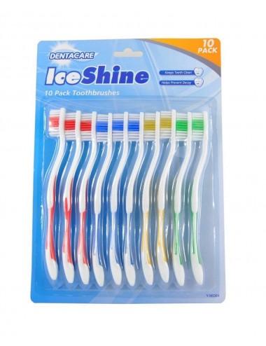 Sada zubních kartáčků pro dospělé (10ks)