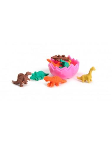 Školní gumy (vajíčko s dinosaury - 8ks)