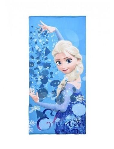 Osuška Ledové království - modrá (Elsa)