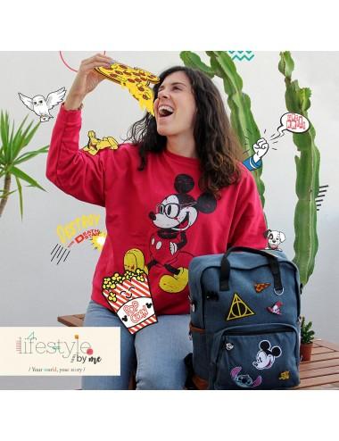 Nažehlovací obrázek Minnie Mouse - mašle