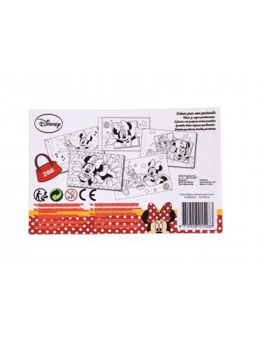 Sada pohlednic - k vlastnímu dotvoření - Minnie Mouse
