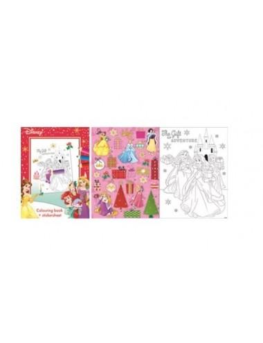 Sada vánočních listů - Princezny