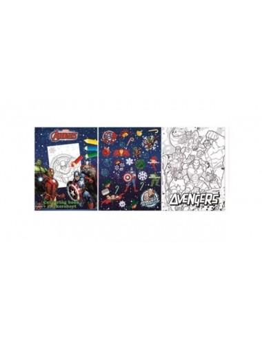 Sada vánočních listů - Avengers