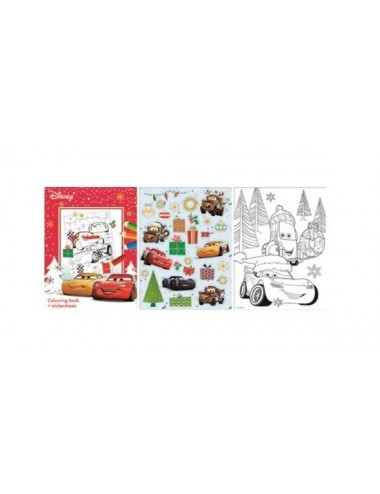 Sada vánočních listů - Auta