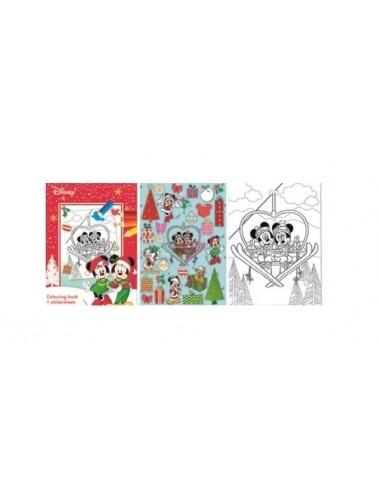 Sada vánočních listů - Mickey & Minnie Mouse