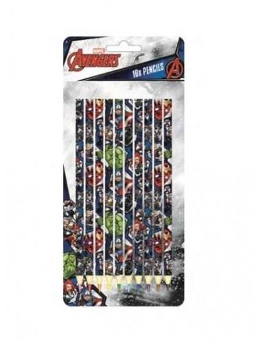 Sada pastelek (10ks) Avengers