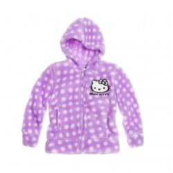 Plyšová mikina Hello Kitty - fialová