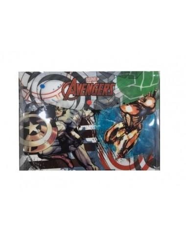 A4 plastové - zavírací složky na cvoček Avengers