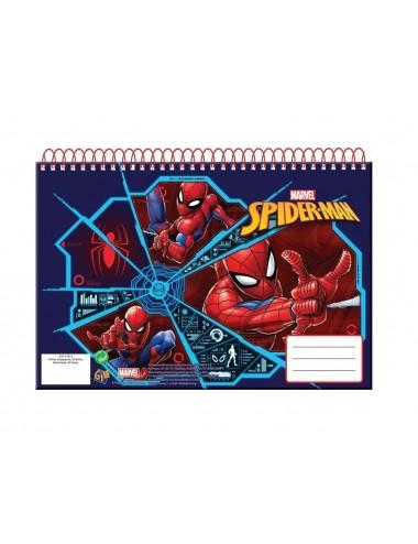 Pružinový skicák Spider-man