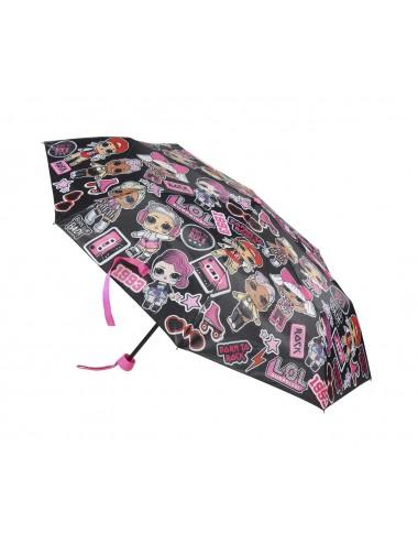 Skládací deštník L.O.L. - černý