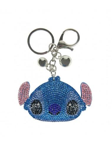 Klíčenka s kamínky Stitch