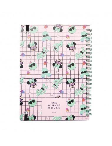 Kroužkový blok Disney - Minnie Mouse / kaktus (linkovaný)