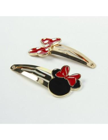 Limitovaná edice - zlaté sponky Minnie Mouse