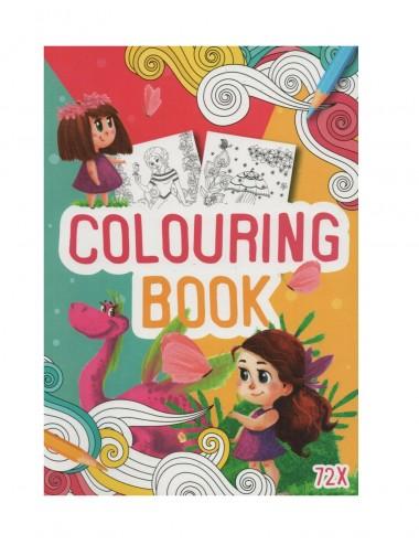 Kniha omalovánek - pro holčičky