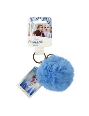 Pom-pom klíčenka Ledové království II - Elsa