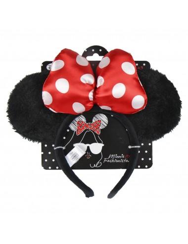 Čelenka s oušky Minnie Mouse