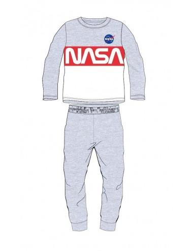 Pyžamo s dl. rukávem + kalhoty NASA - šedá