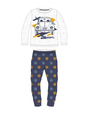 Pyžamo s dl. rukávem + kalhoty Volkswagen - modrá
