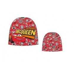 Čepice Auta - červená