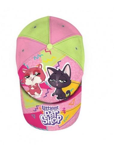 Kšiltovka Littlest pet shop - růžová