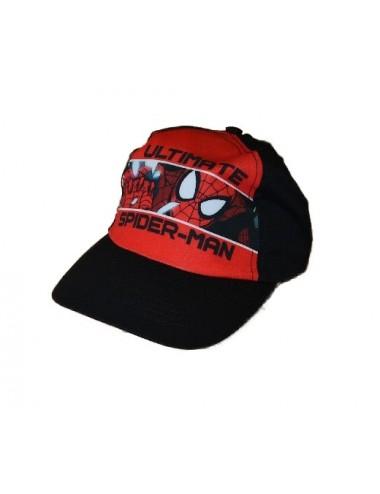 Kšiltovka Spider-man - černo-červená