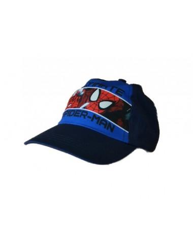 Kšiltovka Spider-man - černo-modrá