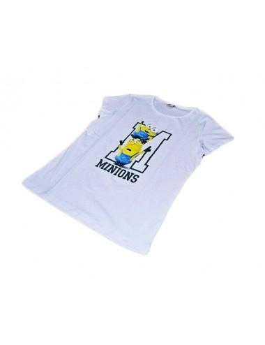Dámské triko Mimoni - bílé