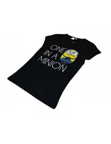 Dámské triko Mimoni - černé
