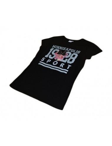 Dámské triko Minnie Mouse - černé