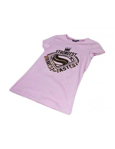 Dámské triko Super-man - růžové