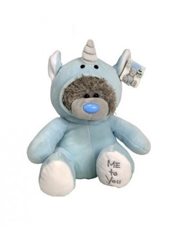 Me to You plyšový medvídek - jednorožec (modrá)