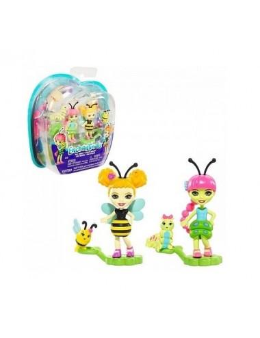 Enchantimals - hmyzí kamarádi (včelka + housenka)