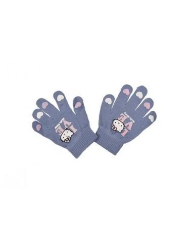 Rukavice Hello Kitty - světle fialová