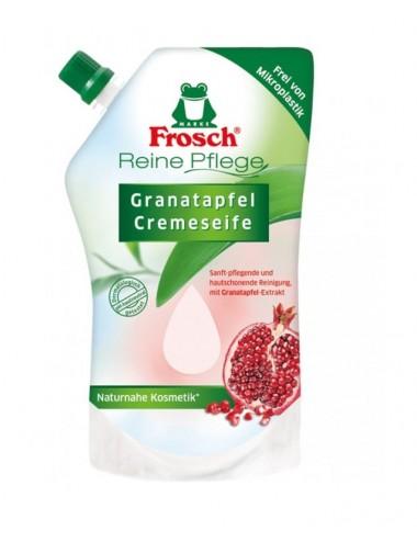 Tekuté mýdlo (náhradní náplň) Frosch - granátové jablko
