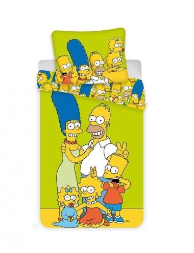 Povlečení na velkou postel Simpsonovi