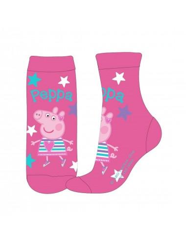 Ponožky Prasátko Peppa - růžové