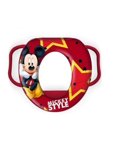 Dětské WC prkénko Mickey Mouse - červená