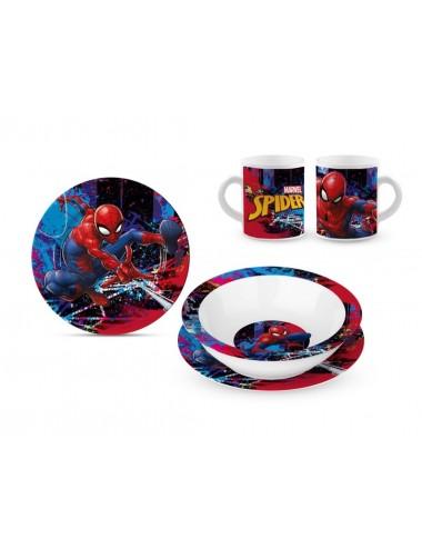 Keramická sada nádobí Spiderman